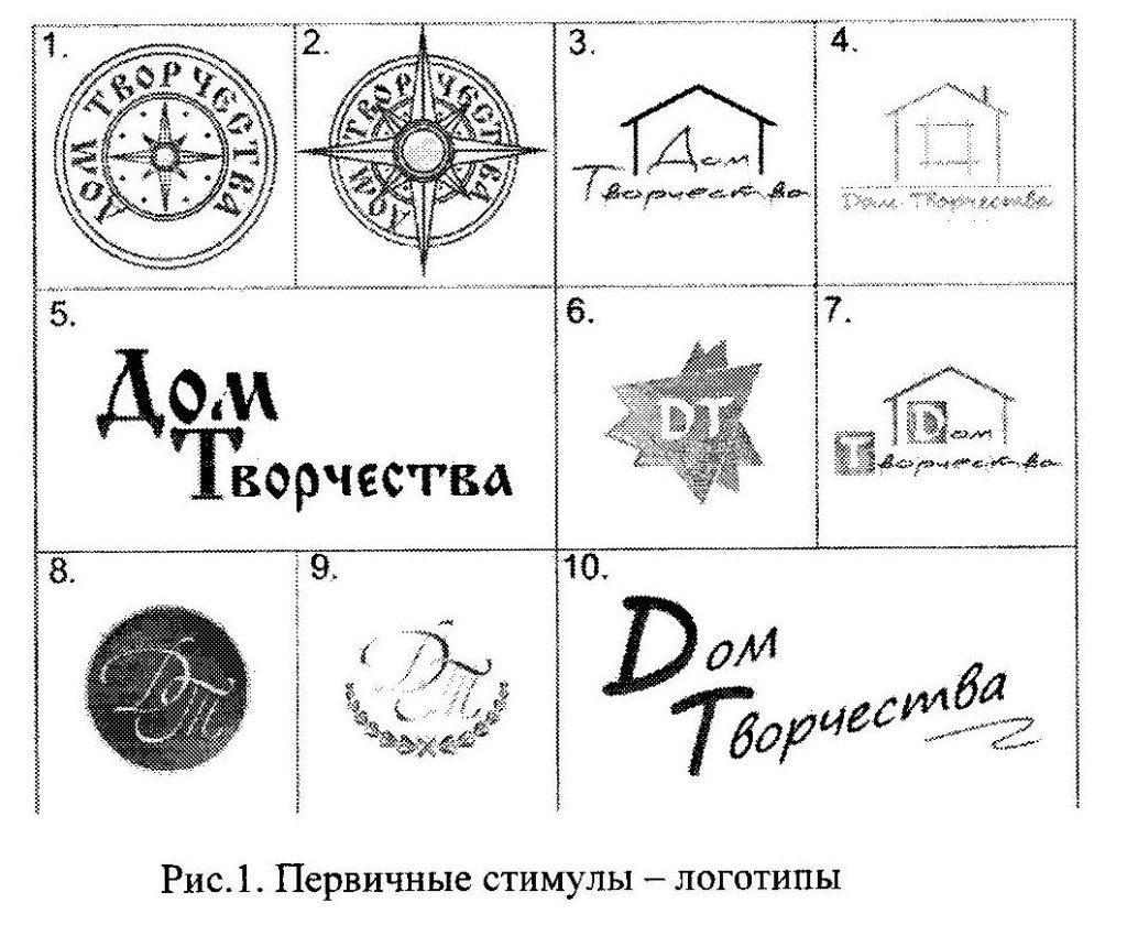 Первичные стимулы - логотипы