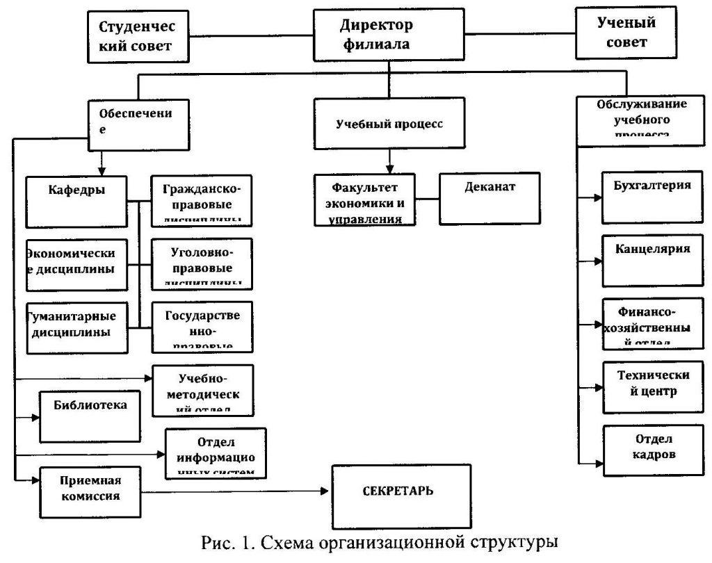 Схема организационной структуры